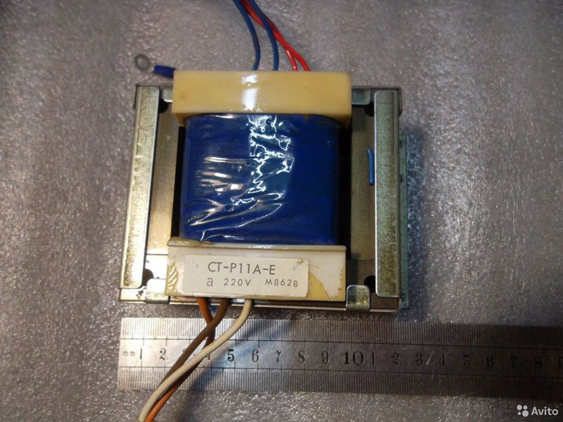 Трансформатор 14,5+14,5В (29В) и 13,5В  89138201193 купить 5