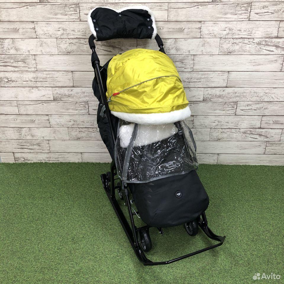 Санки-коляска Nika kids 7-5, цвета микс  89225759000 купить 3