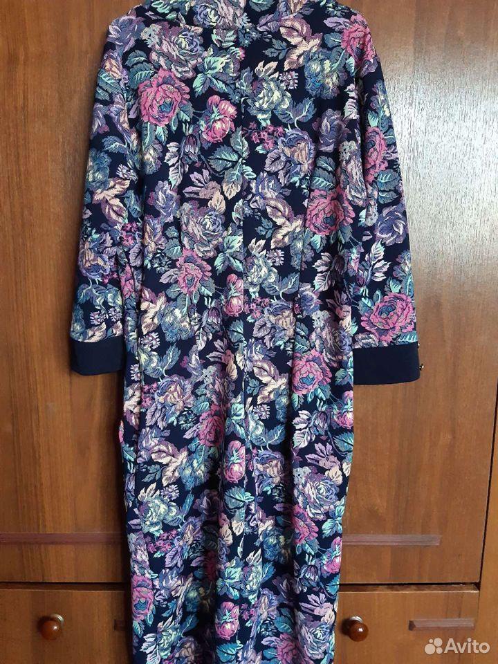 Платье на молнии размер 44-46(б/у)