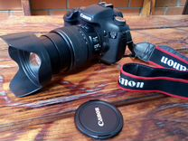Canon EOS 7d с еfs 15-85mm