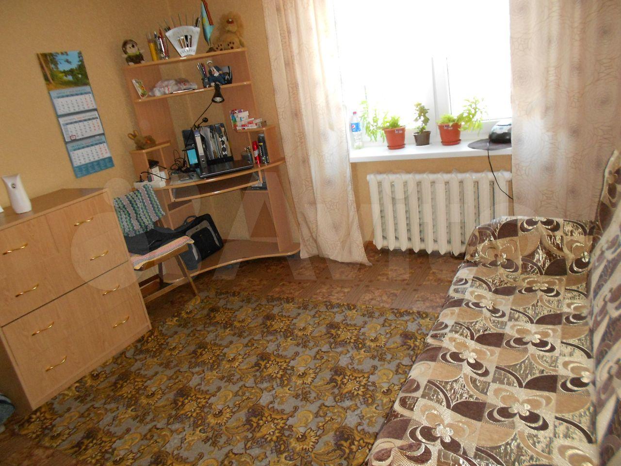 4-к квартира, 72.6 м², 2/5 эт.