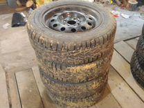 Продаю комплект зимних колес на Лада Гранта — Запчасти и аксессуары в Саратове