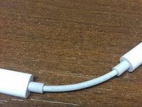 Переходник для наушников apple