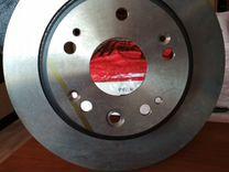 Передние тормозные диски на Honda CRV-II
