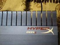 Озу kingston hiper x (4гб 1600мгц)